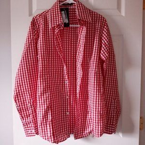 NWT Mens Fitted Button Down by VSKA